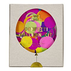 Confetti Balloon Kit – The Pretty Baker