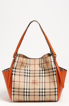 Burberry - 'Haymarket Check Canterbury - Small' Tote @Nordstrom