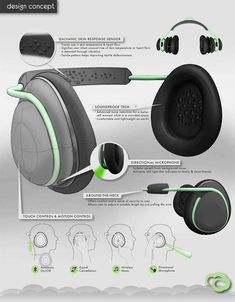 Cumulus Headphones - The Cumulus headphones aim to help autistic adults navigate through crowded spaces. Designer Diamond Ho created the headphones to allow users to is...
