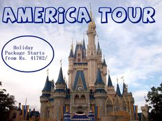 America Tour Package #Holiday Package Starts from Rs. 41782/- #USATour #AmericaVacation