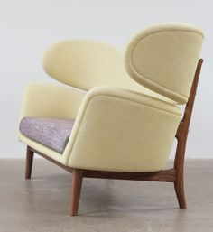 Finn Juhl; Sofa for Baker furniture, 1951.