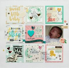 Layout: Sweet Little Baby