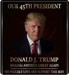 Our President. John Trump, Trump Is My President, Donald Trump, Usa President, Pro Trump, Trump Wins, Greatest Presidents, American Presidents, Trump Picture