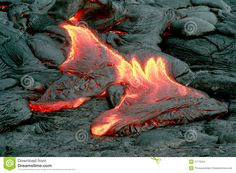 Photo about Lava spills forth from Kilauea Volcano on Hawaii. Image of hawaii, hiking, danger - 2777044 Stone Cairns, Lava, Hawaii Volcano, Spa Massage, Volcanoes, Titans, Stock Photos, Abstract, Stones