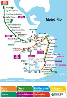 Metro Rio subway system - the last car of each train is marked for women only, with a pink window sticker