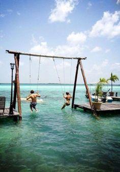Beach House Swing