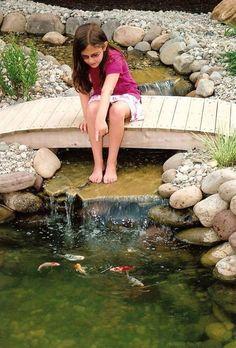 Creative pond and fountain ideas 18