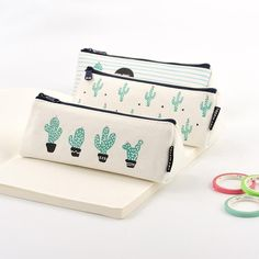 Cactus Pencil Case from Messy Bunny Stationary School, Stationary Store, Cute Pencil Case, Back To School Essentials, Stationery Craft, Cool Notebooks, Cute School Supplies, Tablet, Pencil Bags