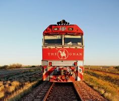 The Ghan train in the Outback    For the next trip to Australia!!!