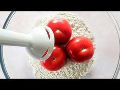 Mixer les tomates avec la farine pour 1 résultat étonnant ! Vous serez heureux ! - YouTube Kitchen Recipes, My Recipes, Chicken Recipes, Dinner Recipes, Cooking Recipes, Savoury Baking, Bread Baking, Herbal Tinctures, Herbalism