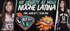 Anna Cruz ha llegado impresionando a la #WNBA Nos invita a la Noche Latina en Nueva York