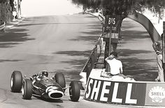 Jackie Stewart,BRM P261, Monaco 1966.