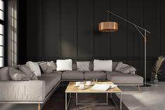 Black Trim Interior, Colorful Interior Design, Interior Design Photos, Contemporary Interior Design, Interior Paint, Interior Decorating, Decorating Ideas, Decor Ideas, Black Rooms