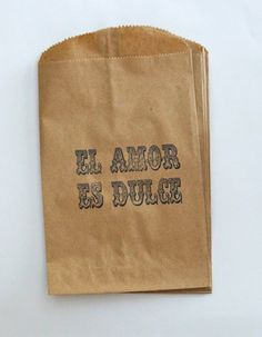 """A goody bag filled with """"dulce"""" is a great way to introduce your friends to sweets and candy unique to your culture."""