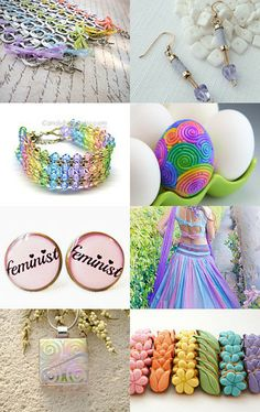 d4481fc00 Spring Pastels by Michele Howarth on Etsy--Pinned with TreasuryPin.com