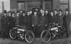 Cleveland Motorcycle Mfg Co Sales Advertising and Admin people March 1917 - Cleveland Motorcycle Manufacturing Company - Wikipedia