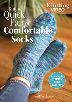 Knit a Quick Pair of Comfortable Socks with Jen Lucas | InterweaveStore.com