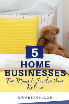 Come explore there 5 home businesses for moms to involve their kids in. Your home business world doesn't have to exist at odds with your parenting world. Managing a home business is an excellent opportunity to get your kids involved and watch them flourish while learning new skills.  #homebusinessideas #homebusinessideasforwomen #homebusinessideasformoms #homebusiness #workingmoms #workfromhome Best Home Business, Home Based Business, Business Tips, Work From Home Moms, Make Money From Home, Home Business Organization, Legitimate Work From Home, Facebook Party, Creative Thinking