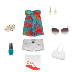 Perfect Summer Outfit ♥, created by audry-schaefer on Polyvore