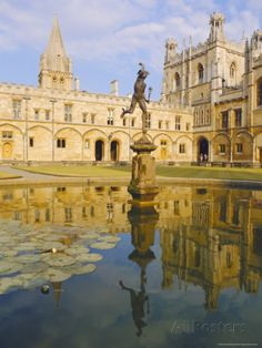 Christchurch College, Oxford, England Photographic Print