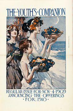 The Youth's Companion  Nov. 4, 1909 vintage magazine cover