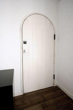 アーチドア/白/ドア/造作ドア/扉/インテリア/ナチュラルインテリア/注文住宅/施工例/ジャストの家/door/interior/house/homedecor/housedesign