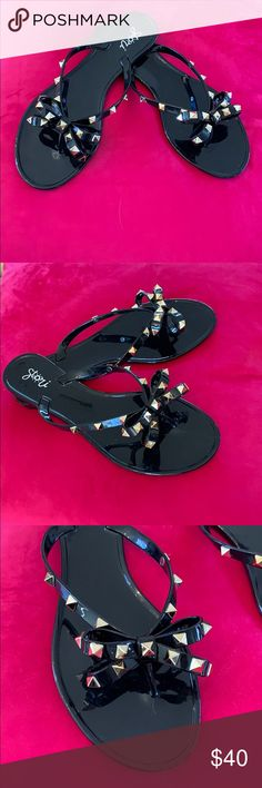 6bc654c1273e7 83 Best Bow sandals images in 2019 | Flat sandals, Beautiful shoes ...