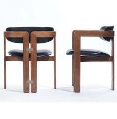 Augusto Savini; 'Pamplona' Chairs for Pozzi, 1965.