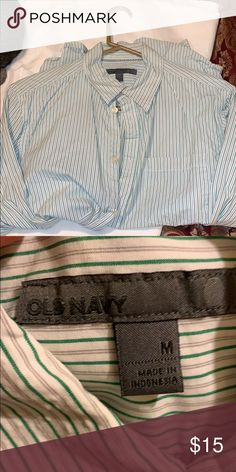 9f57d0334b75f Shop Women s Old Navy size M Button Down Shirts at a discounted price at  Poshmark. Description  Old Navy long sleeve.