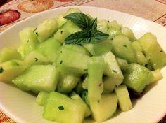 Honeydew Cucumber Salad | Refreshing Summer Side Dish