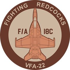 F/A-18 Hornet VFA-22 Fighting Redcocks; F/A-18C