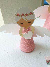 http:& Бумажные Ангелочки Kids Crafts, Crafts For Kids To Make, Preschool Crafts, Art For Kids, Diy And Crafts, Paper Crafts, Christmas Angel Crafts, Kids Christmas, Christmas Decorations