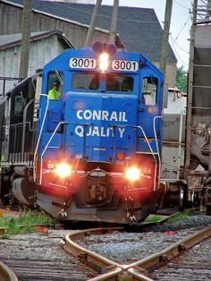 Conrail 3001. Lebanon Seaboard Corporation Tracks, 15th Avenue, Avon, PA