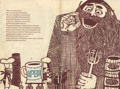 Hark! A Vagrant: — The Story of Paul Bunyon - great prints by the legendary Ed Emberley