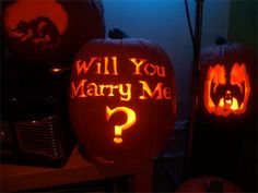 jack o lantern proposal