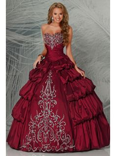 84% Off A Line Ball Gown Wedding Dress With Black Accents 2014