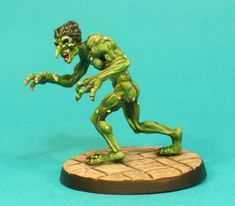 DM4a – Troll I | Otherworld Miniatures conversion to woodie dryads