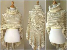 Tutorial # 164: Crochet Poncho Footsteps