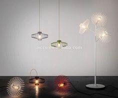 lamparas colgantes de alambre - Buscar con Google