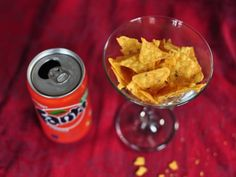 The lovely combination of fizzy soda and Cool Ranch Doritos, DONE!