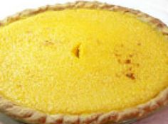 Yellow Squash pie - with nutmeg.