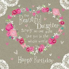 daughter birthday wishes images - Yahoo Image Search Results Happy Birthday Mom From Daughter, Birthday Greetings For Daughter, Birthday Wishes Greetings, Birthday Wishes And Images, Happy Birthday Pictures, Happy Birthday Messages, Wishes Images, Birthday Wishes Quotes, Decoration