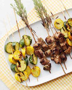 Curry-Yogurt Marinated Lamb Kebabs