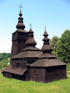 Potoky Muzeum.SK - Drevené kostolíky na Slovensku