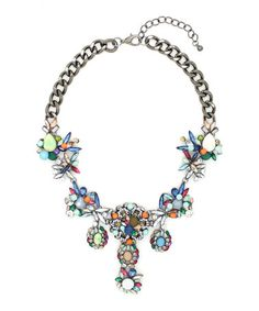 Another great find on #zulily! Silver & Blue Alexa Necklace by Eye Candy LA, $30 !!  #zulilyfinds