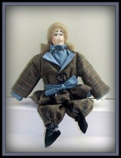 Grandpa Lewis On An Expedition Victorian Gentleman E-Pattern - Gray Is Beautiful Series