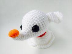 Amigurumi Zero, el Perro Fantasma - Patrón Gratis a Crochet en Español