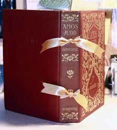 handmade journals How to make an Altered Book Journal AlyBird Art Handmade Journals, Handmade Books, Handmade Notebook, Mini Albums, Book Crafts, Paper Crafts, Homemade Journal, Scrapbook Paper, Scrapbooking