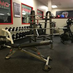 Barbells, adjustable benches, dumbbell sets, racks and mire fitness equipment in-stock.