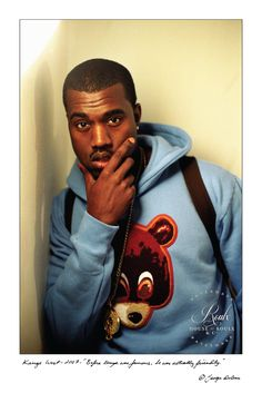 Kanye West (by George DuBose) - Limited Edition, Archival Print